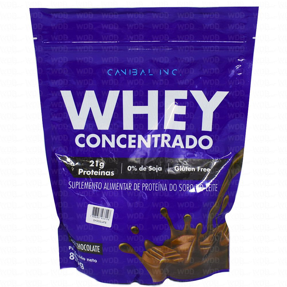 Whey Concentrado 825g Canibal Inc