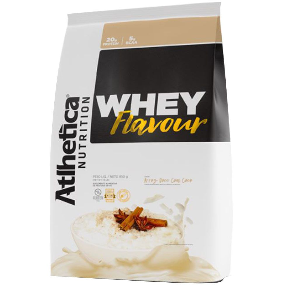 Whey Flavour 850g Refil Atlhetica Nutrition