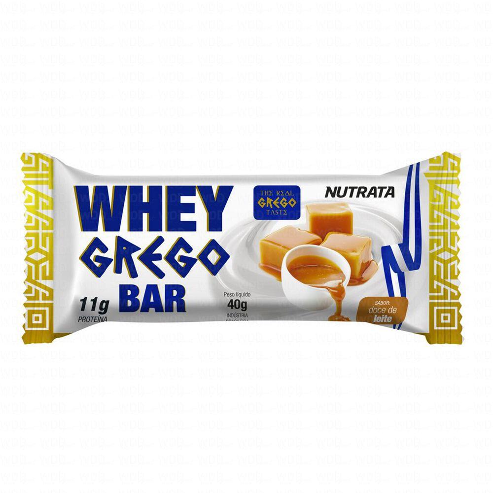 Whey Grego unidade de 40g Nutrata
