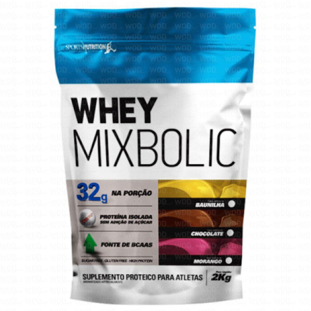 Whey Mix Bolic Refil 2kg Sports Nutrition