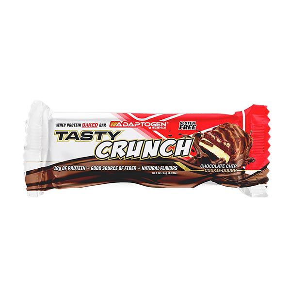 Tasty Crunch Chocolate Chip Cookie Dough 1un de 51g Adaptogen