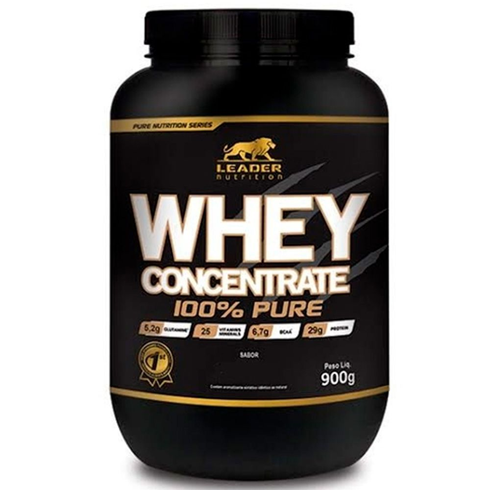 Whey Protein Concentrate 900g Leader Nutrition