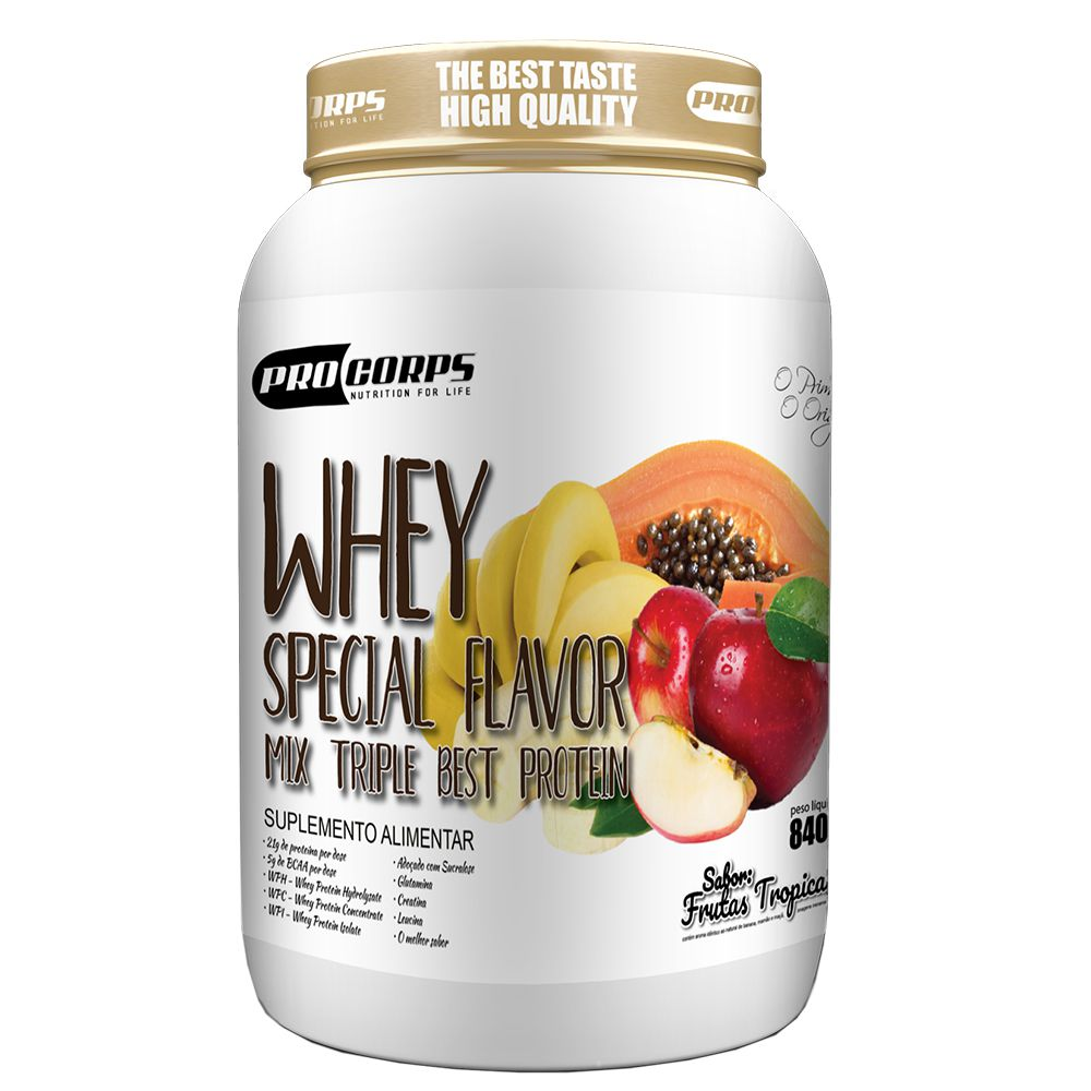 Whey Special Flavour 840g Pro Corps