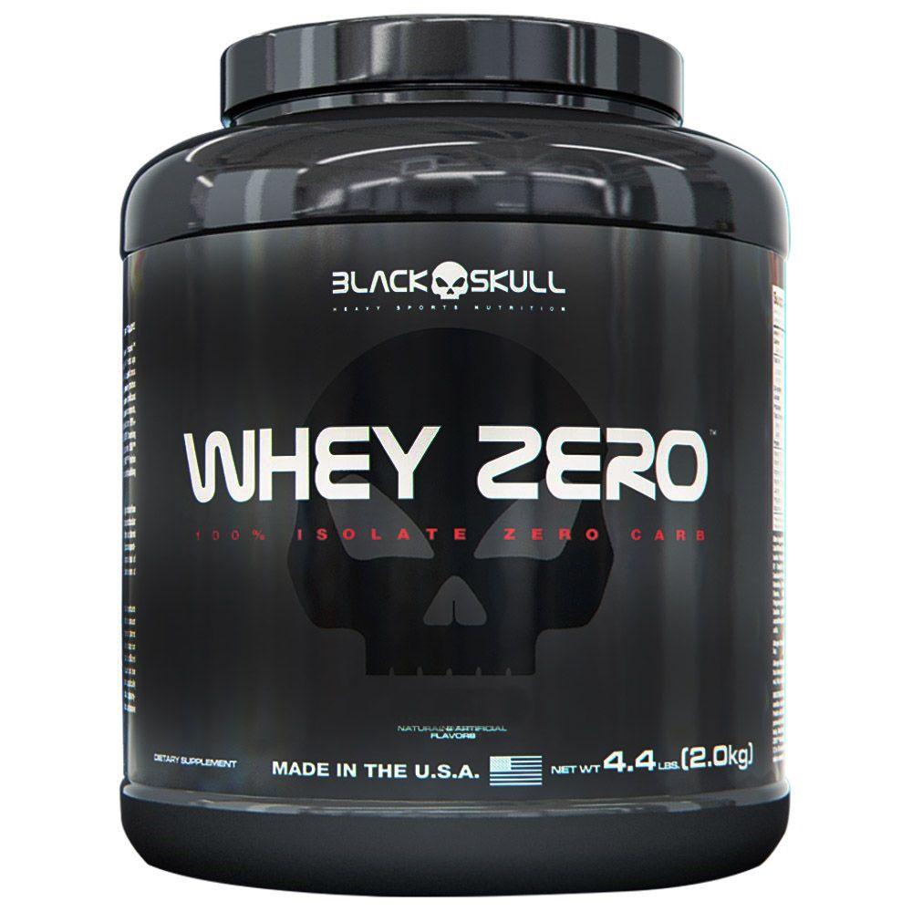 Whey Zero 2kg Black Skull