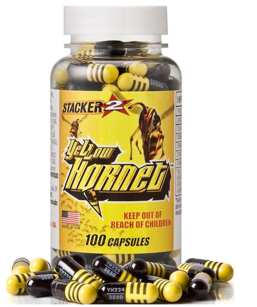 Yellow Hornet 100 caps Stacker 2