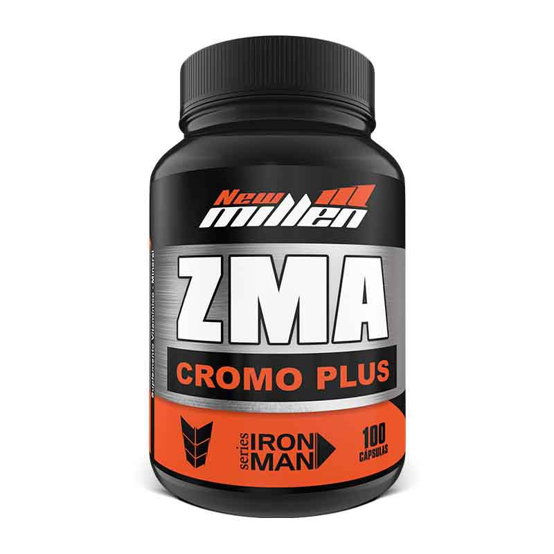 ZMA Cromo Plus 100 caps New Millen