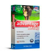 Advantage Max 3 GG (+ de 25Kg) 4ml - Bayer