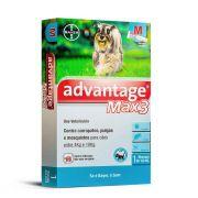 Advantage Max 3 M (4 a 10Kg) 1ml - Bayer