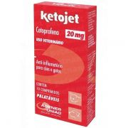 Ketojet 20mg 10 comprimidos - Agener União