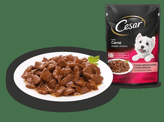 Cesar Cortes Selecionados Sabor Carne Assada ao Molho 85g