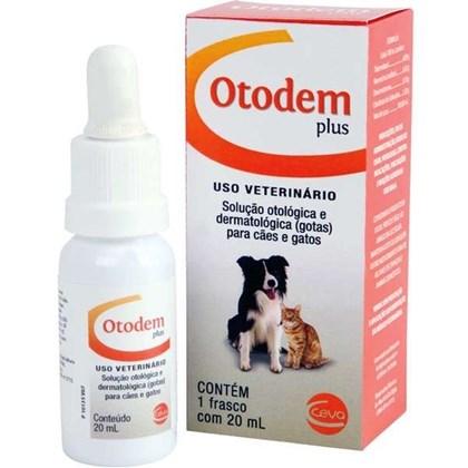 Otodem Plus Solução Otológica e Dermatológica 20 ml - Ceva