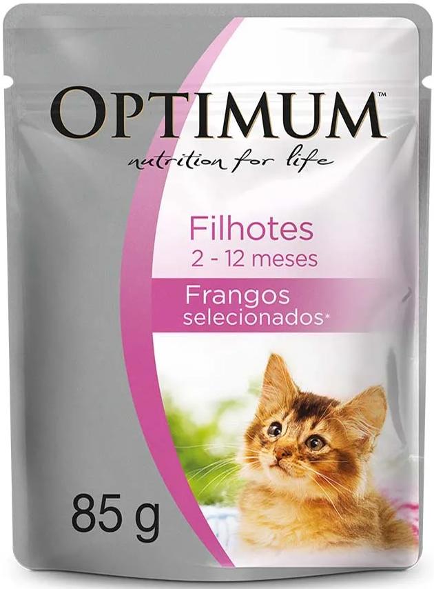 Sachê Optimum Gatos Filhotes 85g
