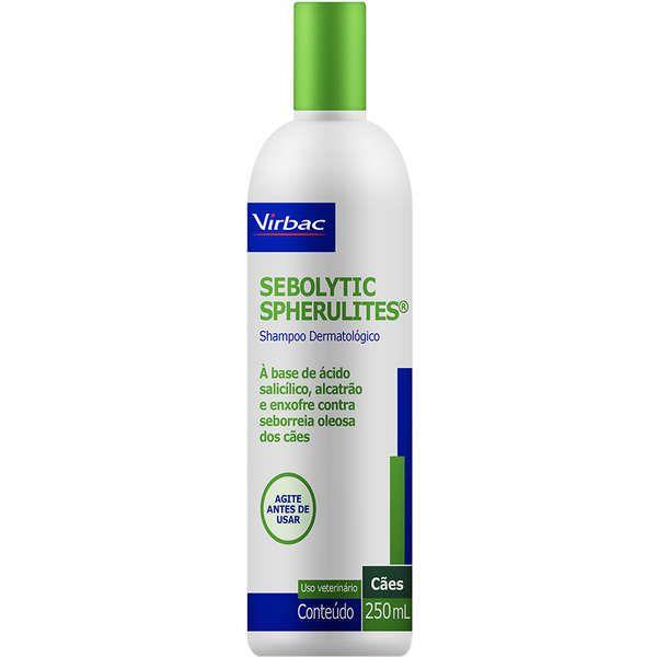 Sebolytic Spherulites Shampoo 250ml - Virbac
