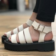 PAPETE FLATFORM MOON BAY OFF WHITE