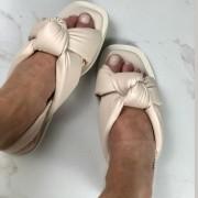 SANDÁLIA RASTEIRA ANNE PUF NÓ OFF WHITE
