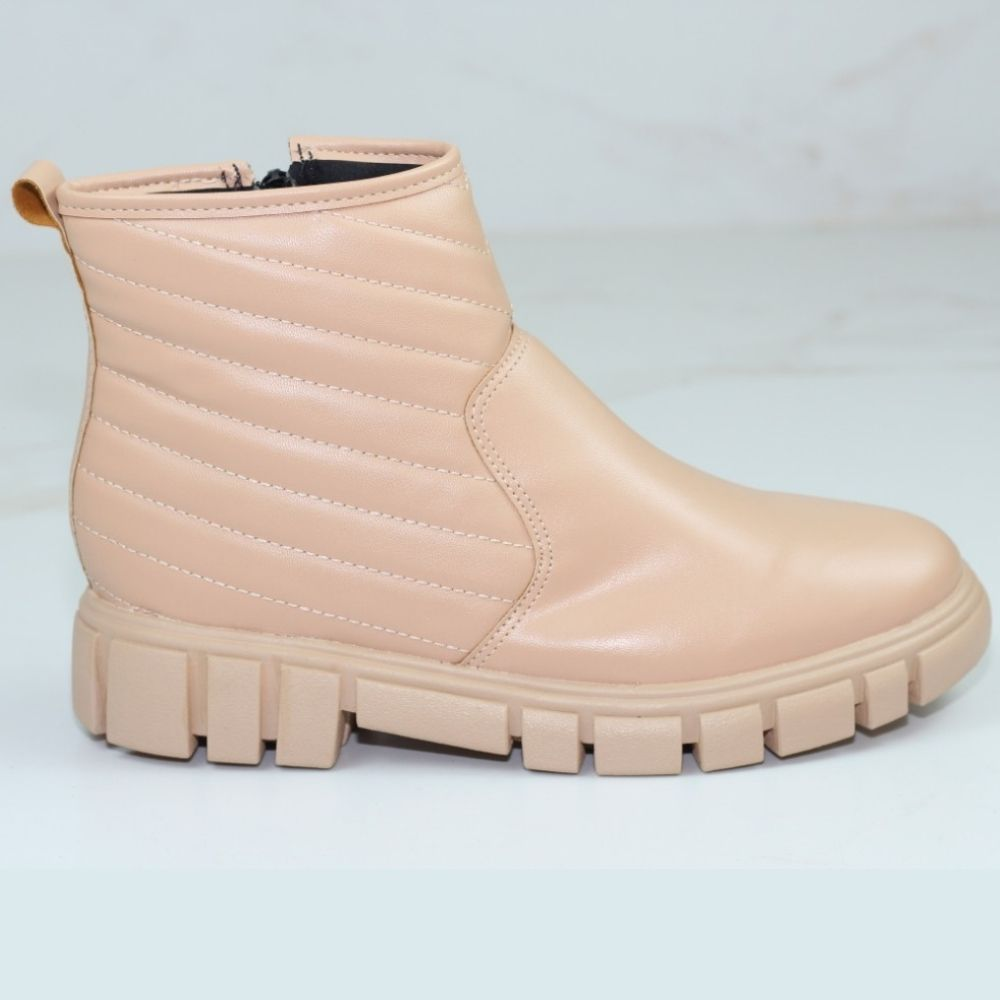 BOTA KIM CANO CURTO OFF WHITE