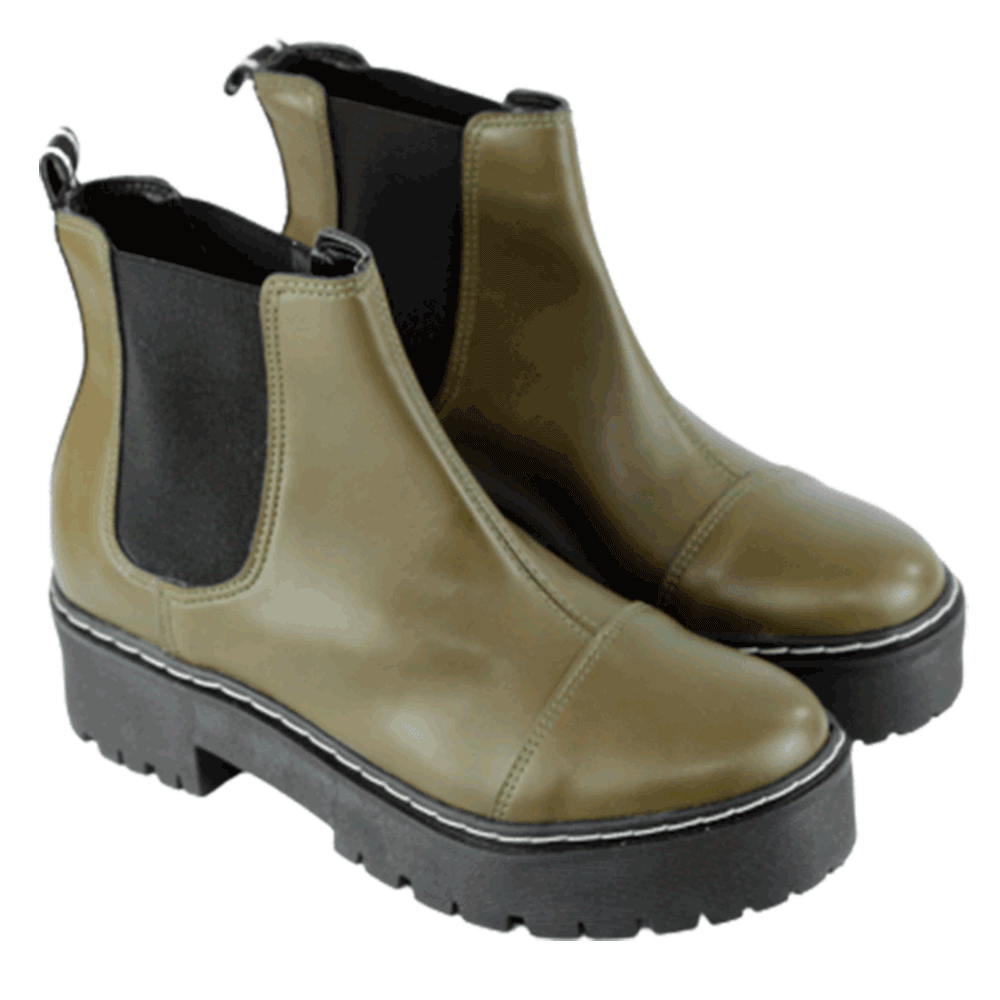 BOTA HUNTER VERDE MILITAR