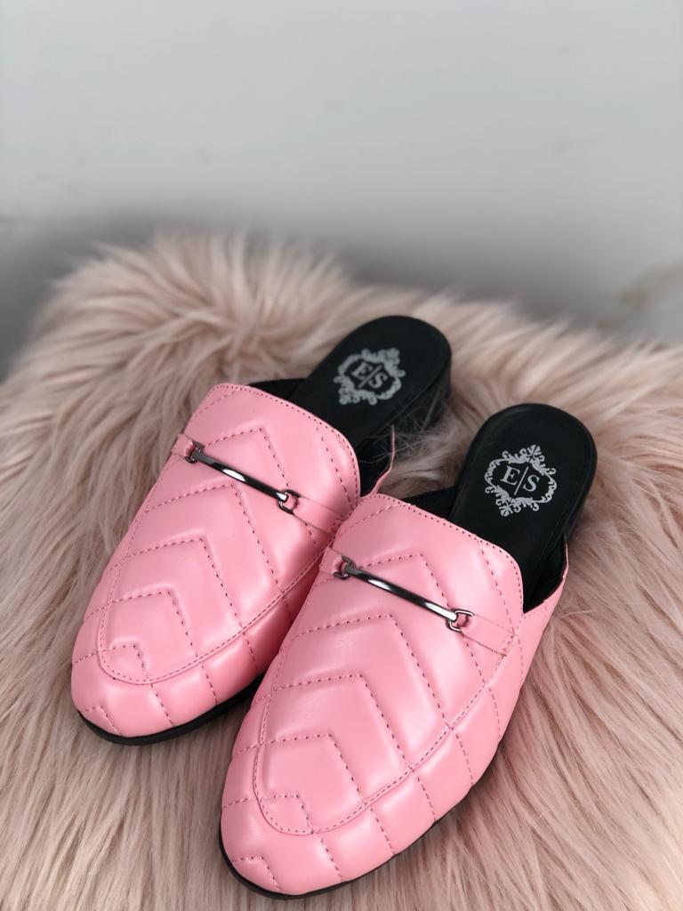 Mule Matalassê Soft V Rosa Balé