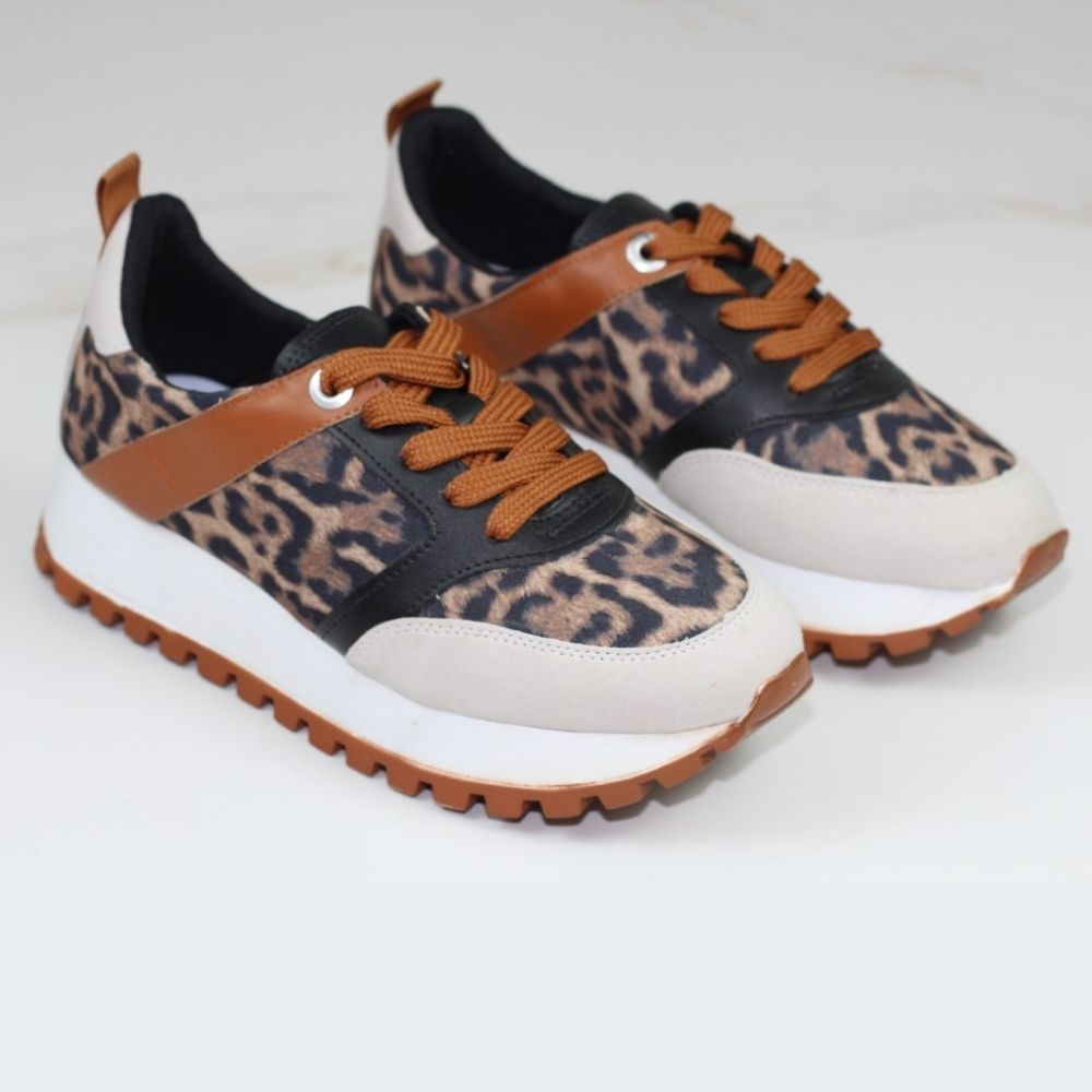 TENIS ZION JOGGING ANIMAL PRINT