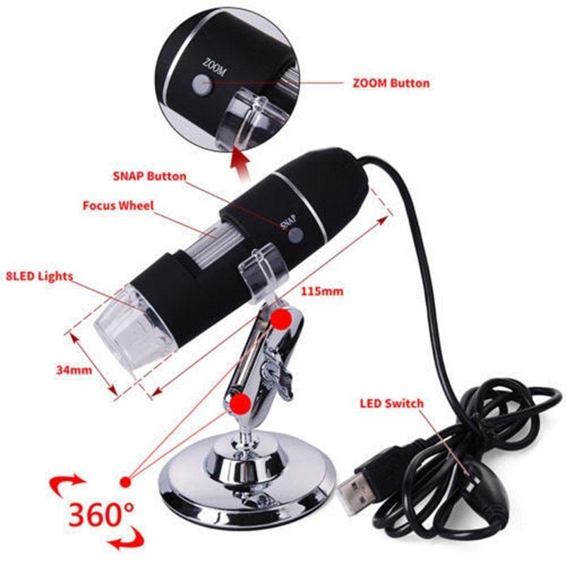 MICROSCOPIO DIGITAL USB AFR - MOD. VMD-1000X