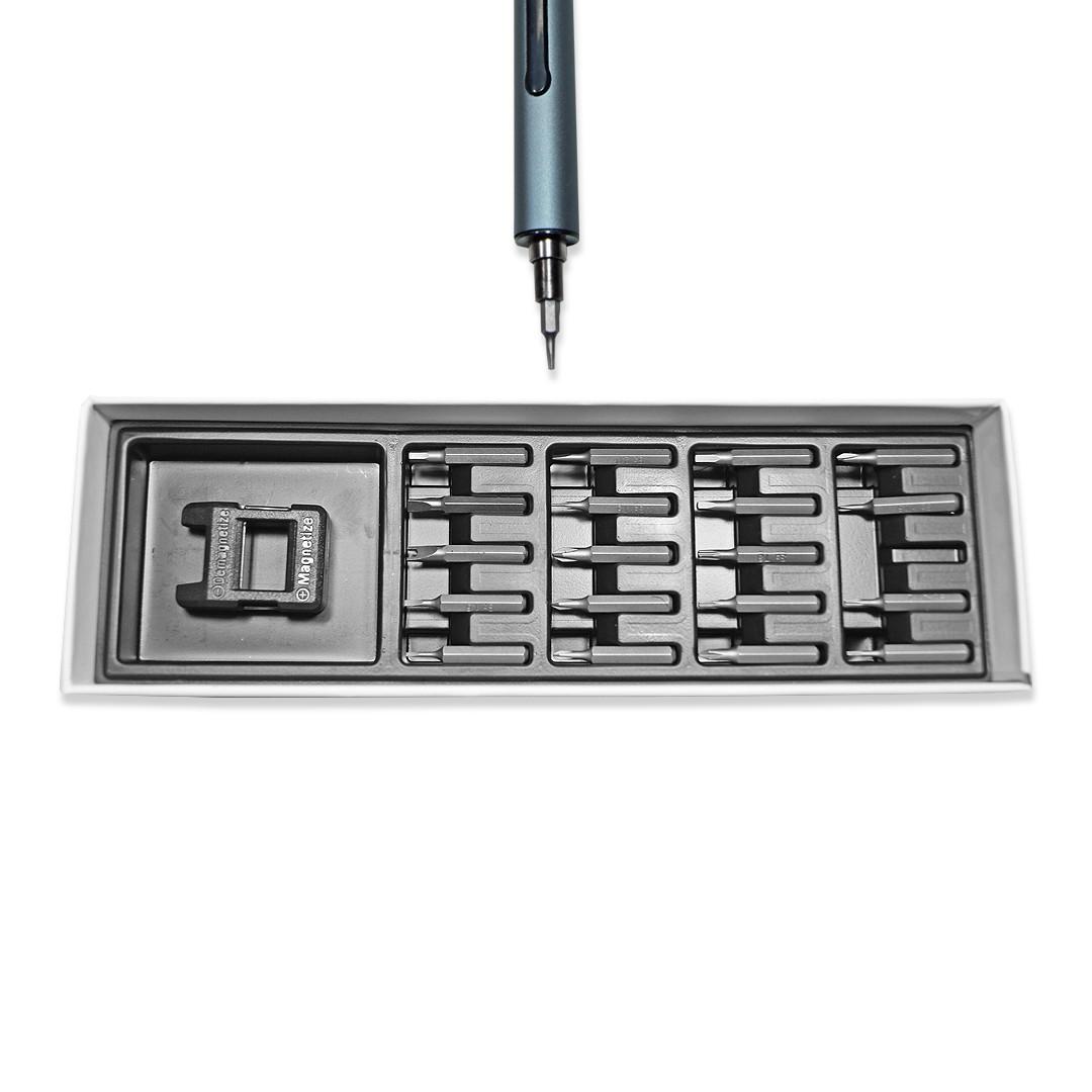 Mini Parafusadeira Eletrica Mod. Afr Mpe-100 - 22 Itens