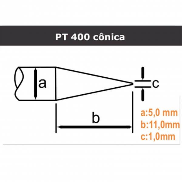 PT 400 Cônica