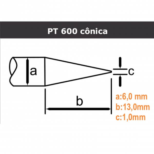 PT 600 Cônica