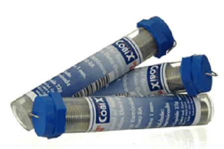 Tubete de Solda 63/37 1,0mm - Cobix