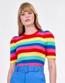 Blusa Penélope tricot cropped