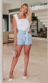 Shorts jeans clochard