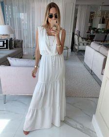 Vestido longo Carina