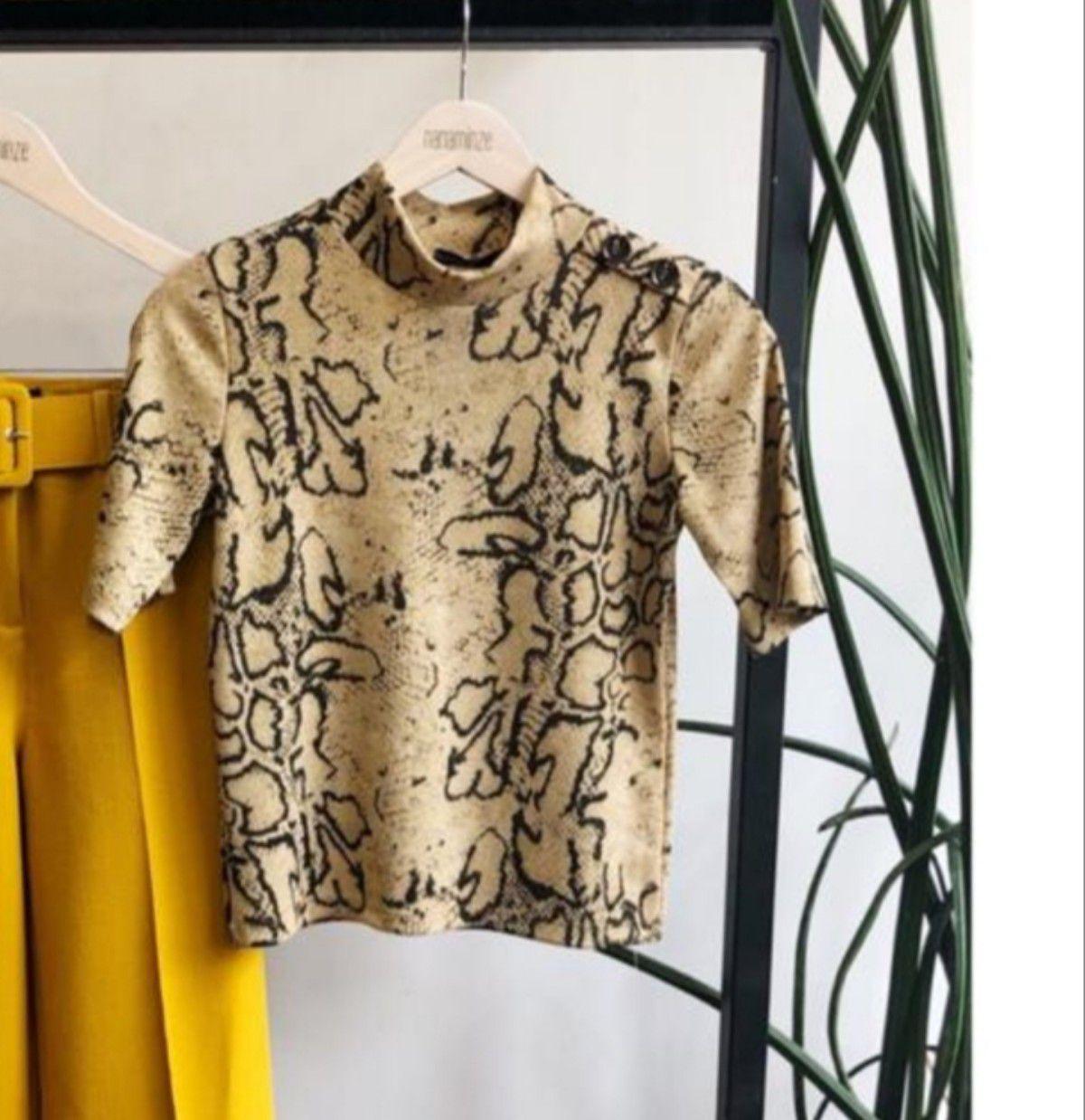 58bdf07cbd Blusa piton lurex - RIX Fashion Store