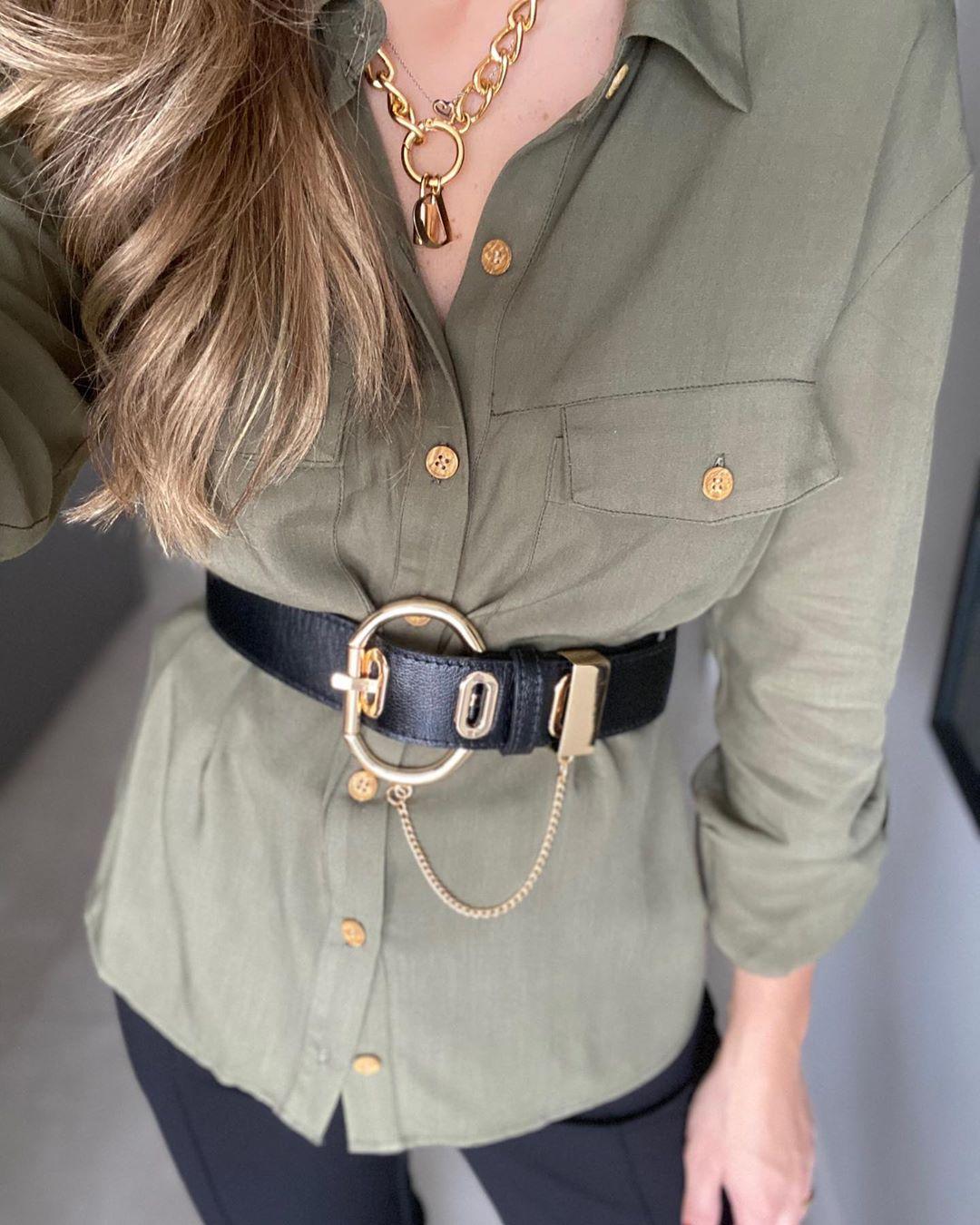 Camisa basic botões