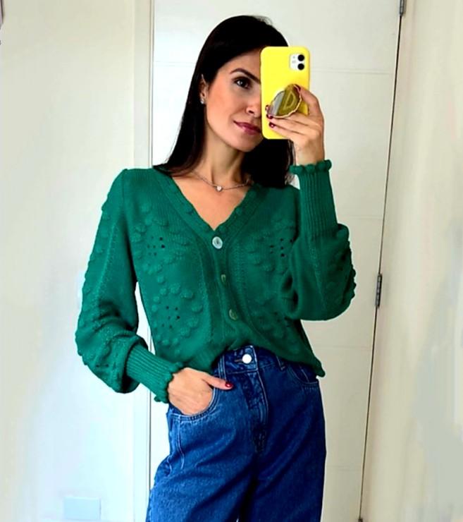 Cardigan tricot Esmeral