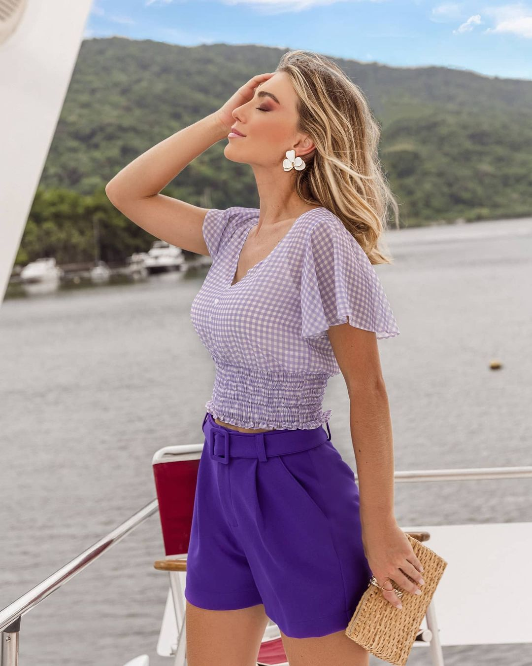 Top cropped vichy