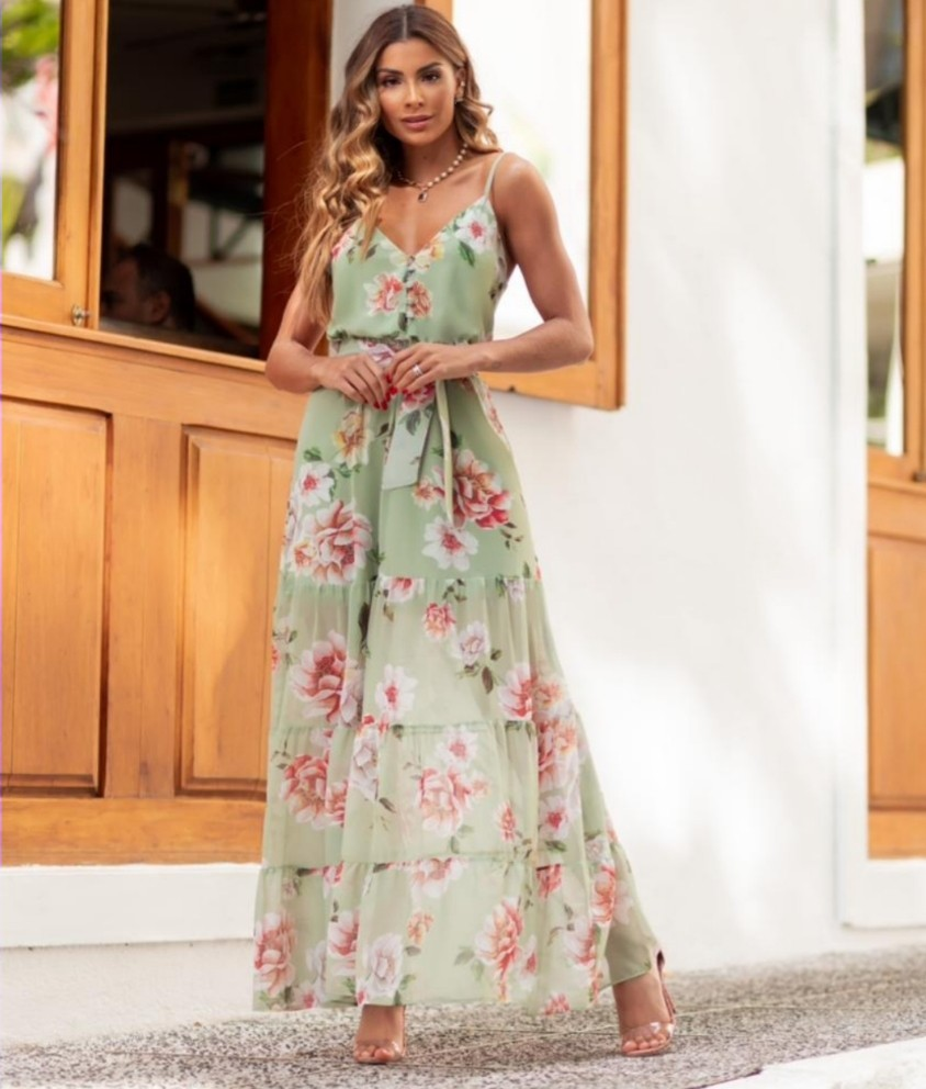 Vestido Chiffon Alyssa