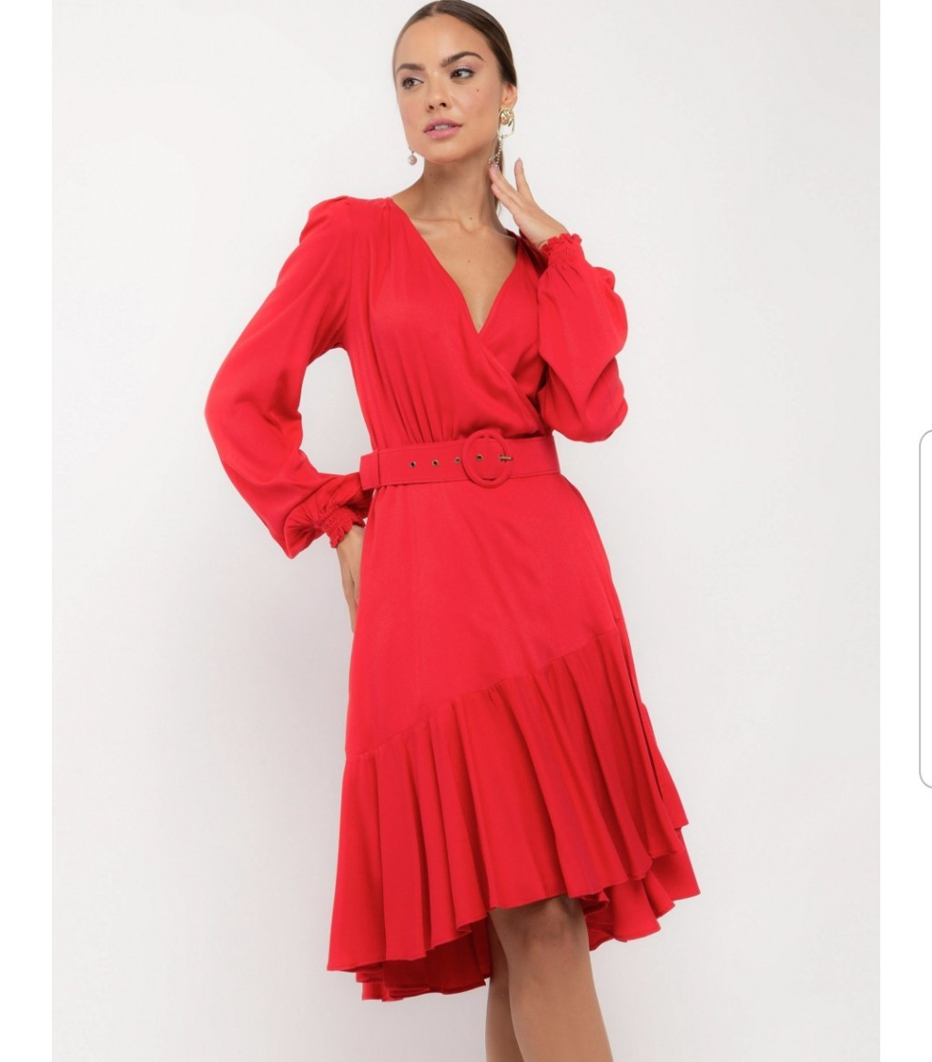 Vestido Donata Liso