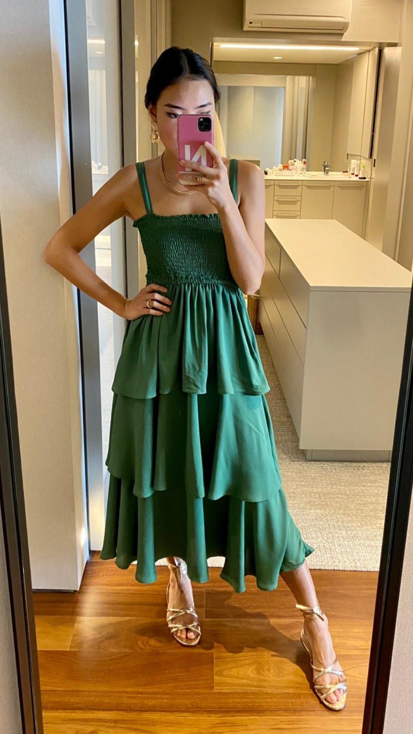 Vestido lastex Esmeral