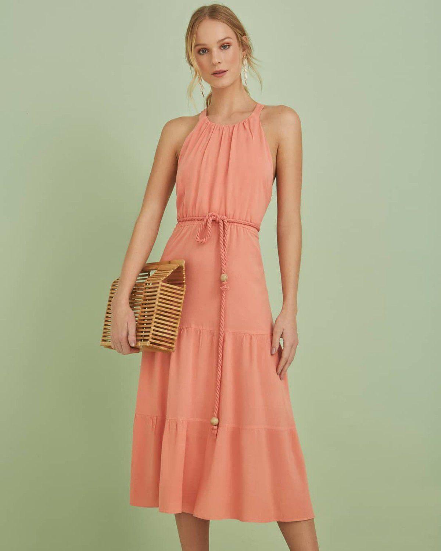 51b581a31e2e Vestido midi com cinto - RIX Fashion Store