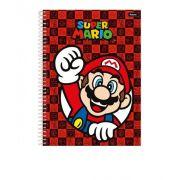Caderno Universitário 96 Folhas - Super Mario