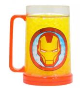 Caneca de Gelo - Homem de Ferro Marvel