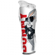 Copo Térmico Acrilico Silhueta Pernalonga Looney Tunes 400Ml