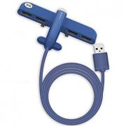 Hub USB Azul