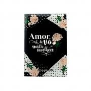 Mini Plaquinha De Vidro  Amor De Vó 12X8 Zona Criativa