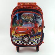 Mochila Rodinha Speed Car Vermelho