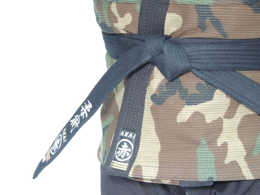 Kimono Jiu Jitsu Akai BJJ Pro - Trançado Camuflado