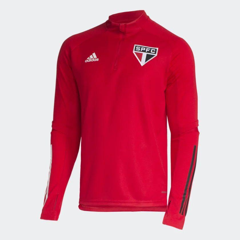 BLUSA TREINO SÃO PAULO FC VERMELHA 2020