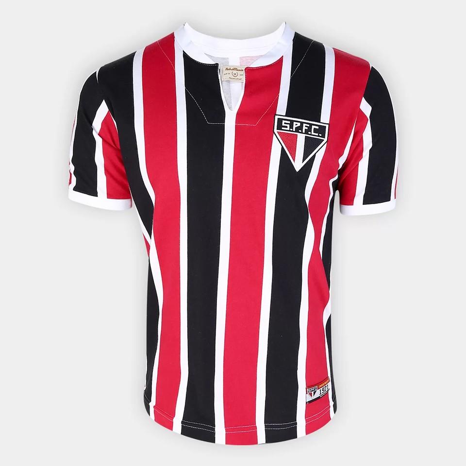 CAMISA RETRÔ SÃO PAULO FC 1971 MASCULINA