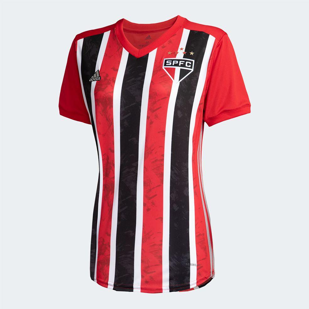CAMISA SÃO PAULO FC II 20/21 ADIDAS FEMININA