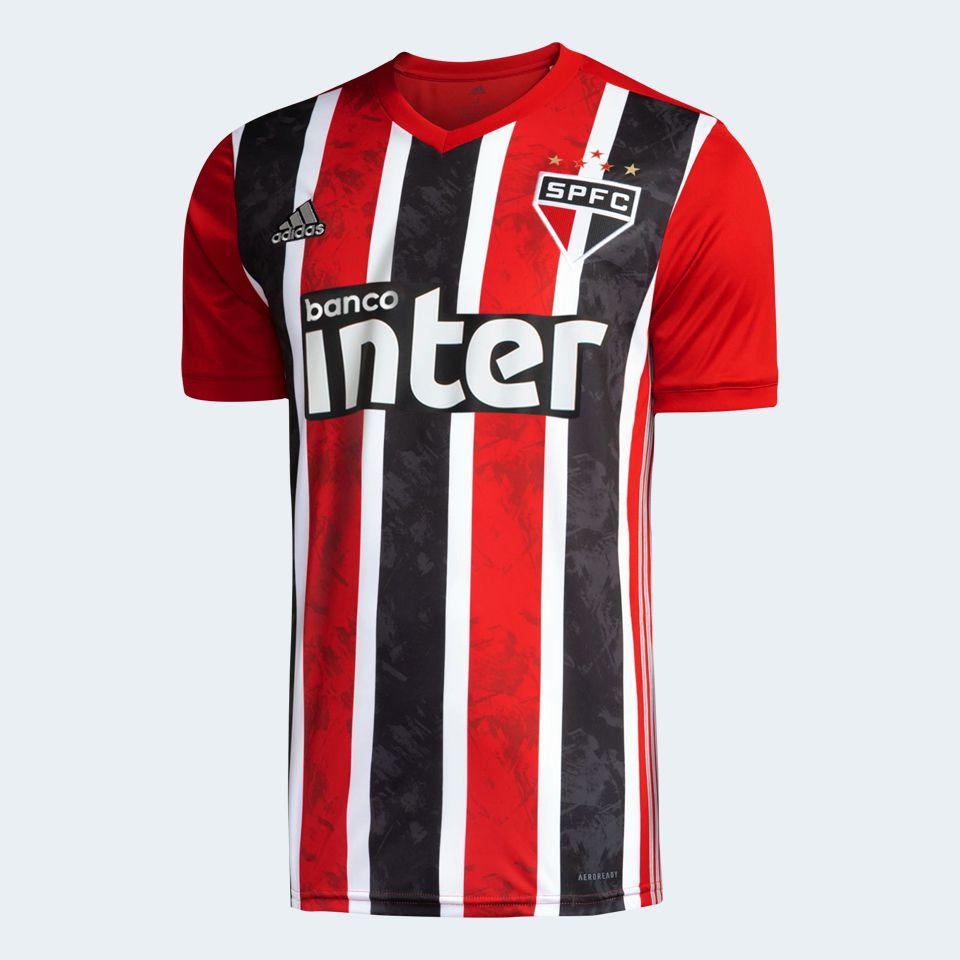 CAMISA SÃO PAULO FC II 20/21 ADIDAS MASCULINA COM PATROCÍNIO